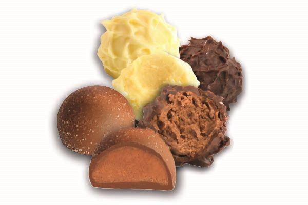 Schokoladentrüffel und Pralinen ohne Alkohol