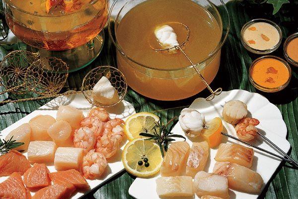 Fisch Fondue