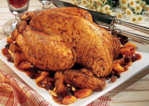 Bresse-Huhn, gefüllt 2400 g