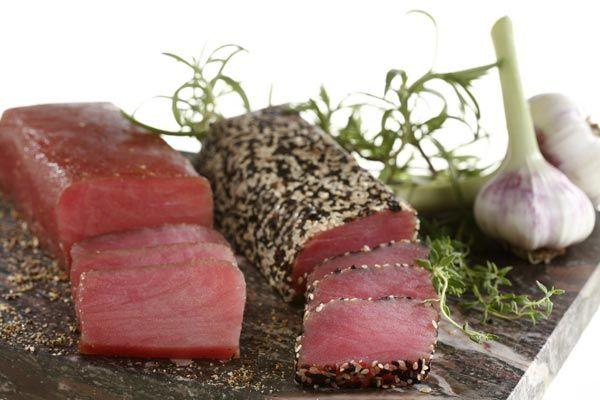 Thunfisch, kalt geräuchert