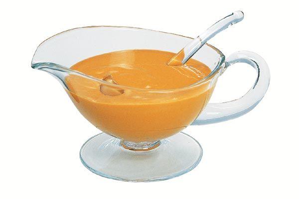 Krebs-Sauce -Nantua- warm
