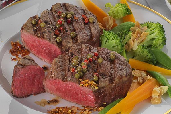 Rinderfilet-Steak