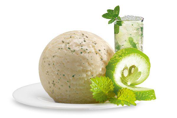 Mojito, Italienisches Eis