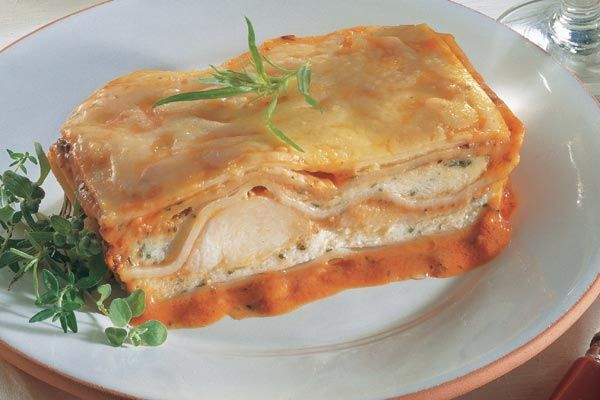 Lasagne aus dem Meer