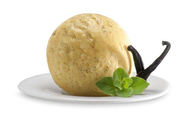 Vanille, Italienisches Eis