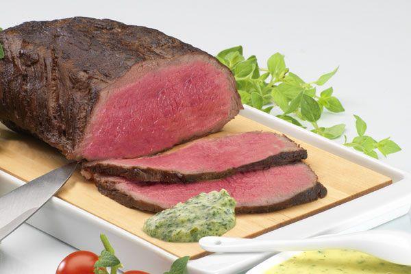 Roastbeefbraten mit Saucen