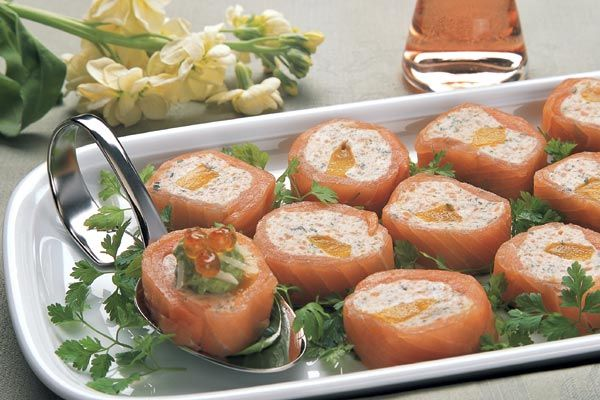 Räucherlachs-Pastete-Mango