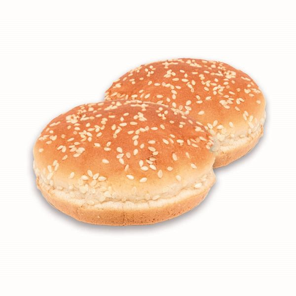 hausgemachte Hamburgerbrötchen