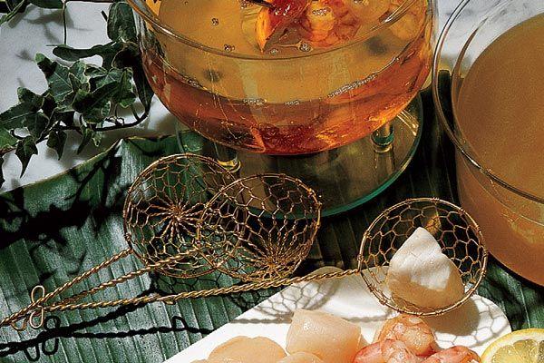 Fisch-Fondue-Körbchen
