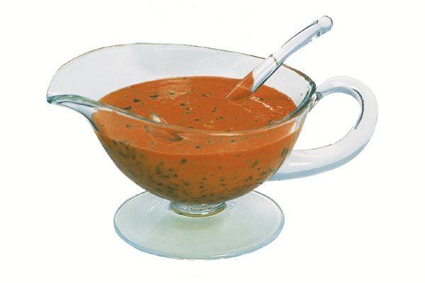 Sauce -Provençale- warm