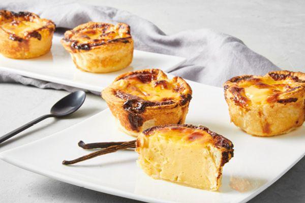 Portugiesische Puddingtörtchen