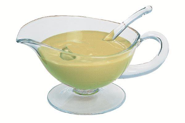 Limonen-Sauce, warm