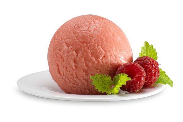 Himbeer-Sorbet, Italienisches Eis