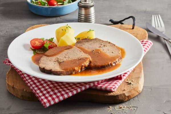 Sauerbraten mit Sauce