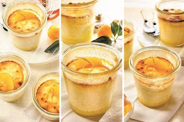 Quark-Orangen-Soufflé mit Ingwer