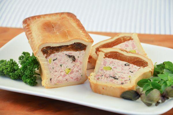 Kalbfleisch-Pastete