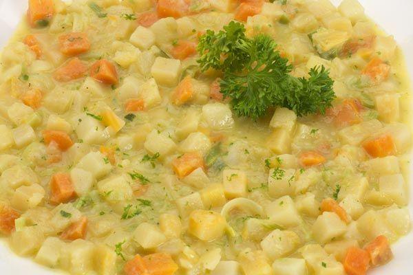 Steckrüben-Gemüse