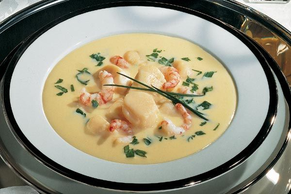 Scallops-Suppe