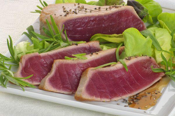 Thunfisch-Rückenfilet-Stücke, Sushiqualität