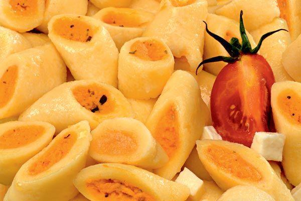 Gefüllte Gnocchi Tomate-Mozzarella